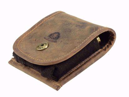Bild von Vintage Leder Munitionstasche