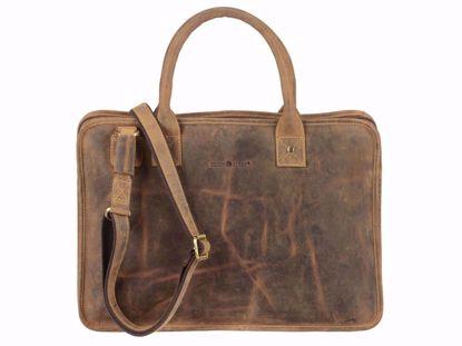Bild von Vintage  Laptop case 2 zip