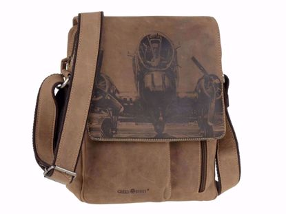 Bild von Vintage Shoulderbag medium Aeroplane RFID