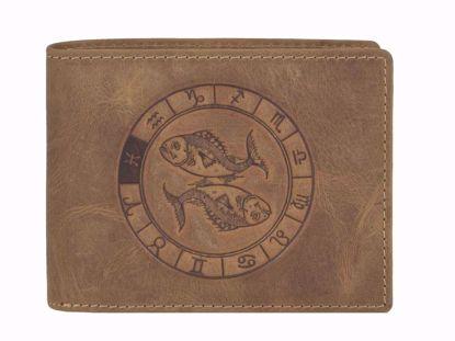 Bild von Vintage Geldbörse Fische