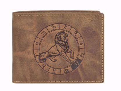 Bild von Vintage Geldbörse Löwe