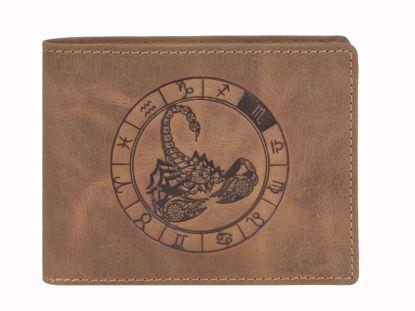 Bild von Vintage Geldbörse Skorpion