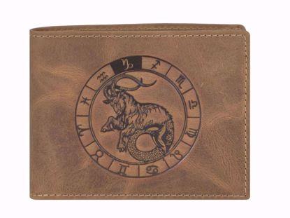Bild von Vintage Geldbörse Steinbock