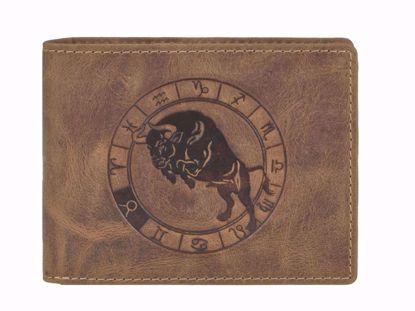 Bild von Vintage Geldbörse Stier