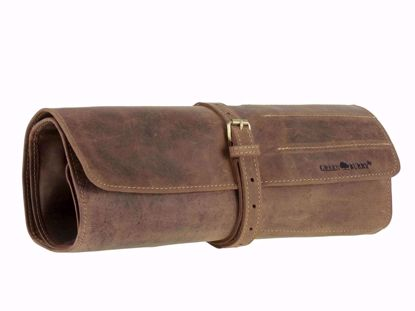 Bild von Vintage Leder Werkzeugrolle